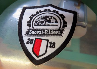 Stickerei Emblem Soorsi Riders